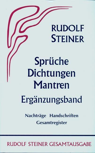Sprüche - Dichtungen - Mantren. Ergänzungsband