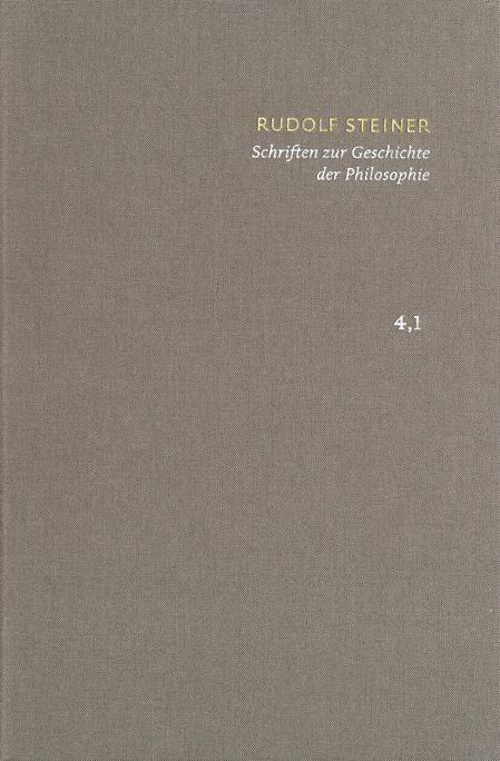 SKA Band 4.1–2: Schriften zur Geschichte der Philosophie