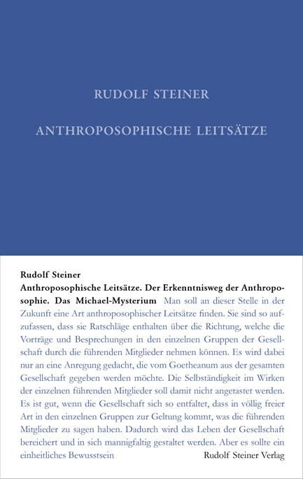 Anthroposophische Leitsätze