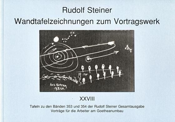 Wandtafelzeichnungen zum Vortragswerk 28
