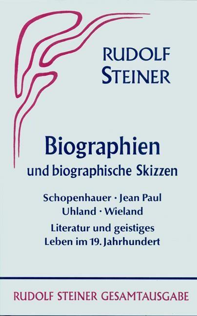 Biographien und biographische Skizzen 1894-1905