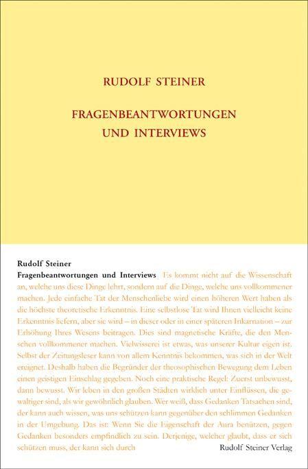 Fragenbeantwortungen und Interviews