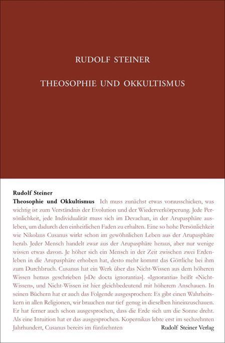Theosophie und Okkultismus