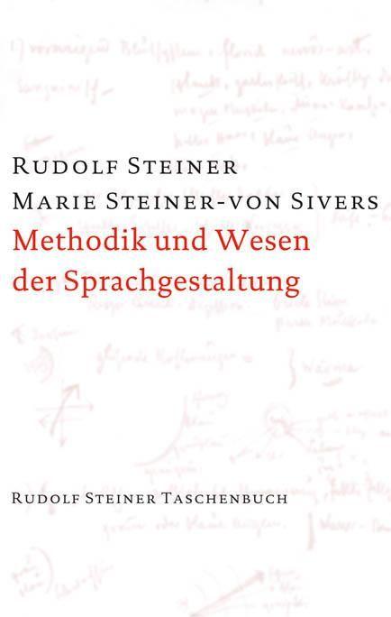 Methodik und Wesen der Sprachgestaltung
