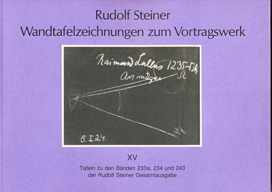 Wandtafelzeichnungen zum Vortragswerk 15
