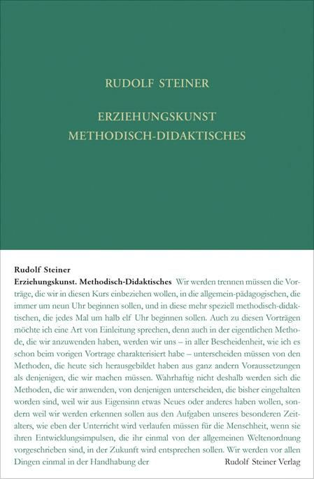 Erziehungskunst. Methodisch-Didaktisches
