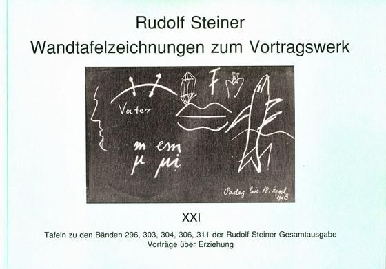 Wandtafelzeichnungen zum Vortragswerk 21
