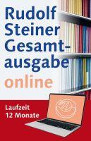 Rudolf Steiner Gesamtausgabe online  Laufzeit 12 Monate
