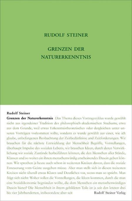 Grenzen der Naturerkenntnis