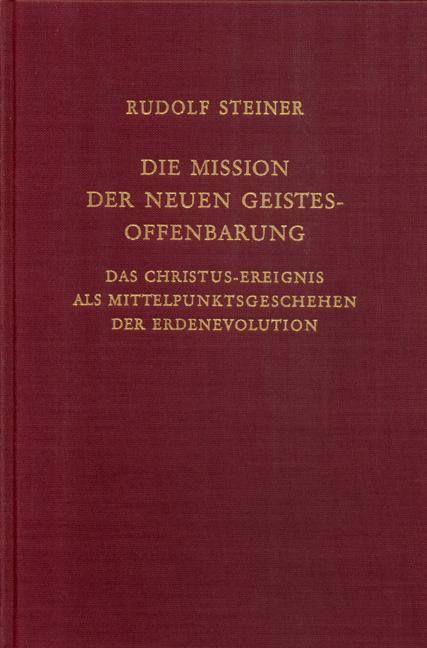 Die Mission der neuen Geistesoffenbarung