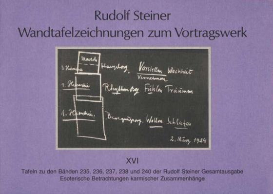 Wandtafelzeichnungen zum Vortragswerk 16