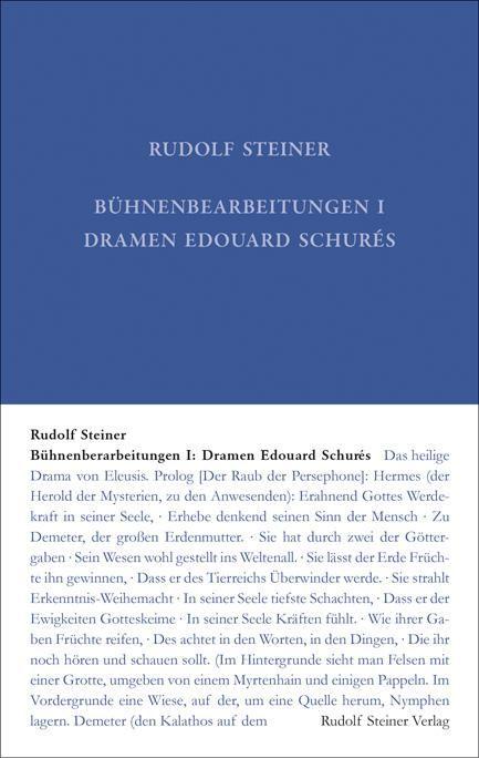 Bühnenberarbeitungen I: Dramen Edouard Schurés