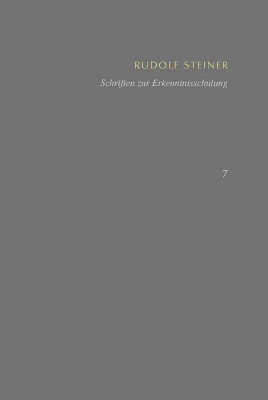 SKA Band 7: Schriften zur Erkenntnisschulung